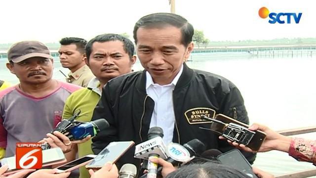Jokowi yang berpasangan dengan Cawapres Ma'ruf Amin ini justru mempertanyakan letak pelanggaran yang dilakukan saat beraktivitas bersama keluarga.