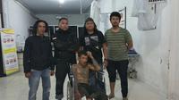 Belum genap sepekan bebas, garong bertato di Makassar kembali tertangkap (Liputan6.com/ Eka Hakim)