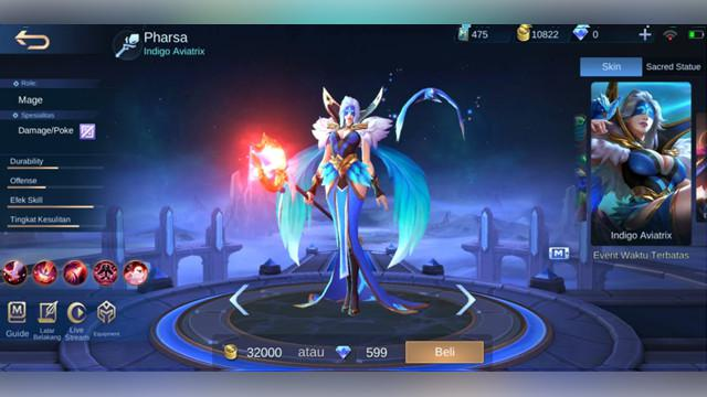 Pharsa: Indigo Aviatrix