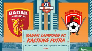 Badak Lampung FC Vs Kalteng Putra