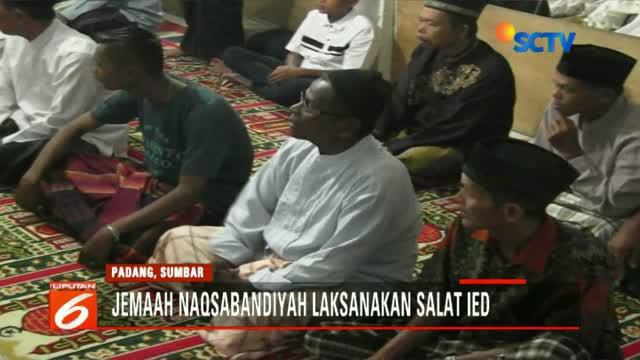 Sebagaimana akhir Ramadan awal puasa, jemaah ini juga lebih dulu dua hari dari umat muslim lainnya.