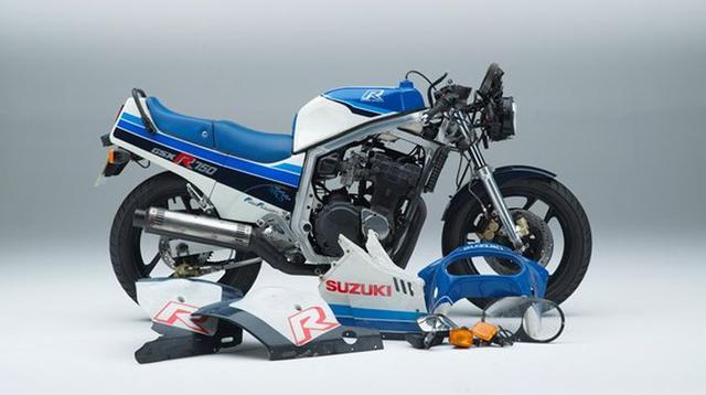 Suzuki akan membangun GSX-R750 seluruhnya dengan komponen-komponen baru.