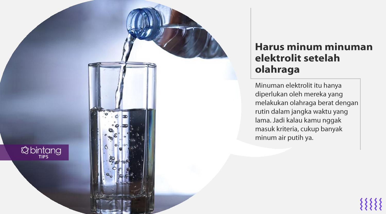 Mitos hidup sehat yang harus kamu lupakan. (Foto: Deki Prayoga, Digital Imaging: Nurman Abdul Hakim/Bintang.com)