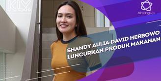 Luncurkan produk makanan, Ini awal ide Shandy Aulia dan suami bikin produk ayam geprek