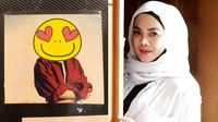 Potret lawas Sarita Abdul Mukti, bukti cantik sedari dulu.  (Sumber: Instagram/@_shaniasalsabila/@queen_saritaabdulmukti)