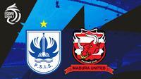BRI Liga 1 - PSIS Semarang Vs Madura United (Bola.com/Adreanus Titus)