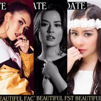 Lima artis cantik Indonesia masuk dalam kandidat 100 Wajah Tercantik di Dunia 2017 versi The Independent Critics. (sumber foto: @tccandler/instagram)