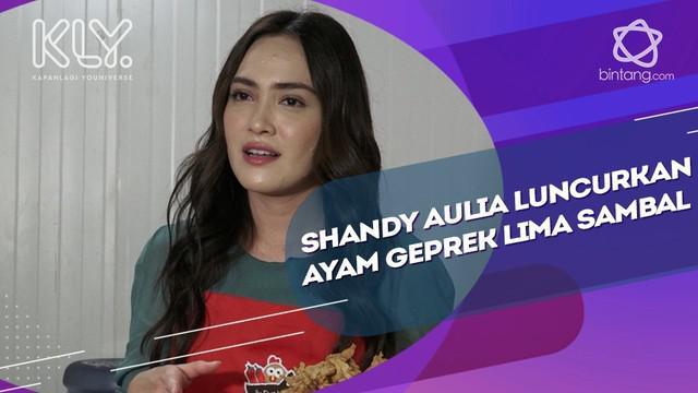 Bisnis Kuliner, Shandy Aulia Makin Suka Makan Sambal Matah