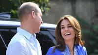 Kate Middleton dan Pangeran William (Dok.Instagram/@louisofcambridge/https://www.instagram.com/p/B3oSrUNHHVF/Komarudin)
