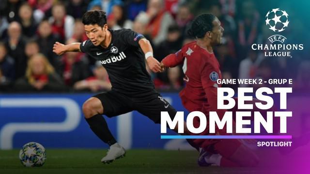 Berita video momen-momen terbaik yang tercipta pada matchday 2 di Grup E Liga Champions 2019-2020.