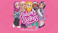 Peter Gould - Barbie Muslimah 'Salam Sisters' (Sumber: salamsisters.com)