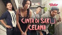 Film Cinta di Saku Celana dapat ditonton di platform streaming Vdio. (Sumber: Vidio)