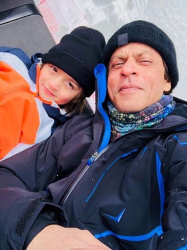 [Bintang] Shahrukh Khan dan AbRam Khan
