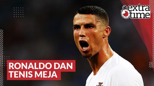 Berita video Extra Time kali ini membahas kisah yang menghubungkan Cristiano Ronaldo dengan cabang olahraga di luar sepak bola yaitu, tenis meja.