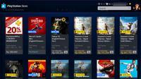 Black Friday dimulai, PlayStation Store gelar diskon besar-besaran untuk judul gim terbaru. (Liputan6.com/ Yuslianson)