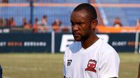 Gelandang Madura United, Zah Rahan. (Bola.com/Aditya Wany)