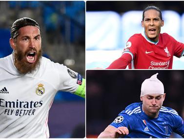 Sergio Ramos dan Bek Tengah Paling Tangguh di Dunia Saat Ini