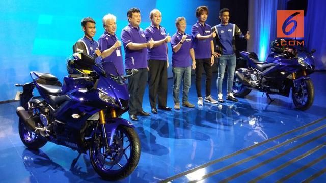 Peluncuran New Yamaha Rp 25 Dan R3 Di Jakarta Kamis 11 10 2018 Septian Liputan6