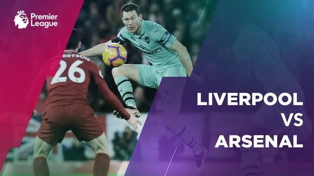 Berita video statistik Liverpool vs Arsenal pada laga pekan ke-20 Premier League 2018-2019.