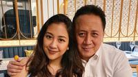 Triawan Munaf dan Sherina (Sumber: Instagram/sherinasinna)