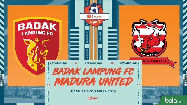 Badak Lampung FC Vs Madura United
