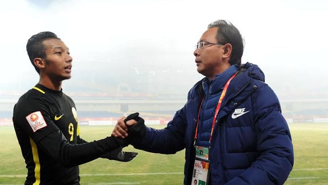 Timnas Malaysia U-23 di Piala AFC U-23 2018. (Bola.com/Dok. AFC)