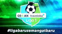 Logo Liga 1 2017 Indonesia (Foto: Liputan6.com/Helmi Fithriansyah)