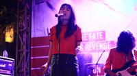 Sydera di Konser Musik Cut The Crap. (Bahaya Records)