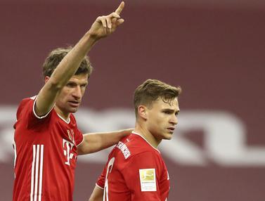 FOTO: Bayern Munchen Lumat Bayer Leverkusen di Allianz Arena