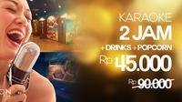 King Karaoke bekerjasama dengan LaKupon menggelar promo diskon 50 persen.