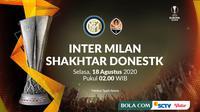 Liga Europa - Inter Milan Vs Shakhtar Donestk (Bola.com/Adreanus Titus)