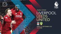 Liverpool vs Leeds United (Liputan6.com/Abdillah)