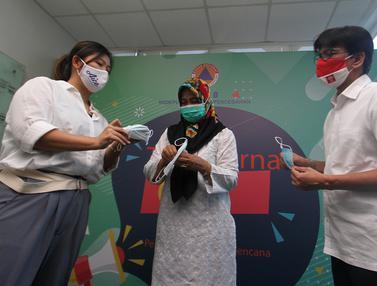 Donasi Masker dan Penyerahan Es Krim untuk Tenaga Medis