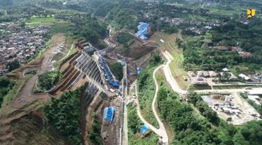 Bendungan Sukamahi di Kabupaten Bogor