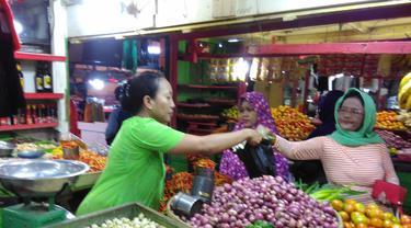 Pedangan di Pasar Gorontalo (Arfandi Ibrahim/Liputan6.com)
