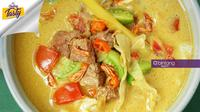 Tongseng kambing. (Fotografer: Daniel Kampua/DI: M. Iqbal Nurfajri/Chef: Arum Sari)
