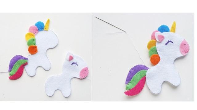 Cara Membuat Boneka Dari Kain Flanel Bentuk Unicorn Lucu Citizen6