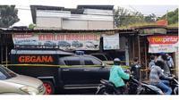 Lokasi penangkapan terduga teroris di Condet (Sumber: Merdeka.com)