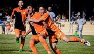 Para pemain Persiraja Banda Aceh kecewa pada manajemen klub yang tak juga menyelesaikan tunggakan gaji. (Bola.com/Aceh Kita)