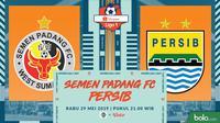 Shopee Liga 1 - Semen Padang FC Vs Persib Bandung (Bola.com/Adreanus Titus)