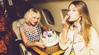 Hadiah ulang tahun Taylor Swift untuk Gigi Hadid. (Instagram)