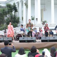 Memperingati Hari Sumpah Pemuda di Istana Bogor (Deki Prayoga/bintang.com)