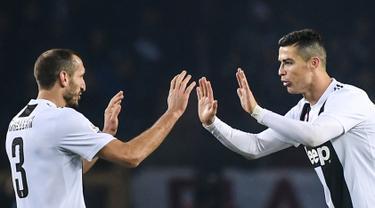 Ronaldo Cetak Gol ke-5.000 Juventus di Serie A