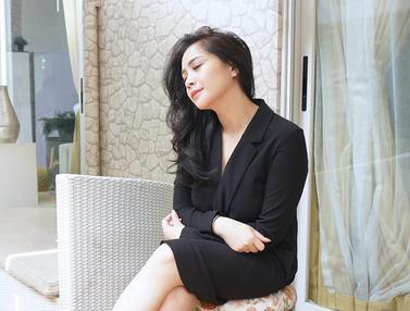 Cantiknya Nagita Slavina dengan Berbagai Gaya Rambut