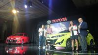 Toyota new Yaris resmi meluncur dihadapan komunitas Toyota Yaris Club Indonesia (TYCI). (istimewa)