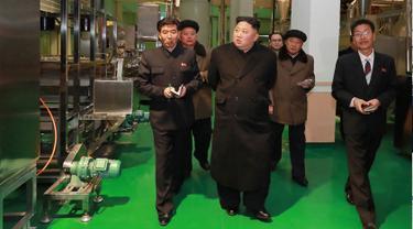 Kim Jong-un Kembali Tinjau Pabrik Kentang di Samjiyon
