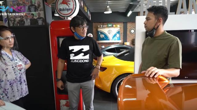 Raffi Ahmad Panas Lihat Garasi Andre Taulany Penuh Mobil Mewah Showbiz Liputan6 Com