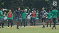 Pelatih Timnas Indonesia U-23, Luis Milla. (Liputan6.com/Helmi Fithriansyah)
