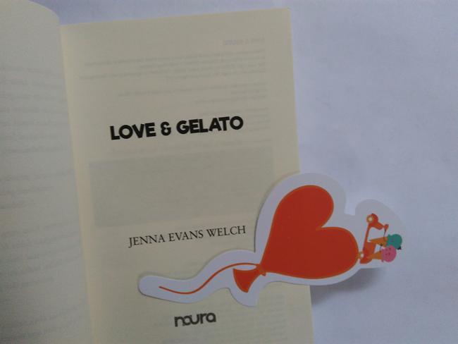 Novel Love and Gelato./Copyright Vemale/Endah