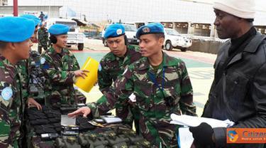 Citizen6, Adshit Al Qusayr: Kegiatan pemeriksaan diawali dengan pemeriksaan di area UN POSN 7-1 meliputi Markas Batalyon, Kompi D, Kompi E dan Kompi Bantuan. Obyek pemeriksaan terdiri dari Major Equipment dan Self Sustainment.  (Pengirim: Badarudin Bakri)